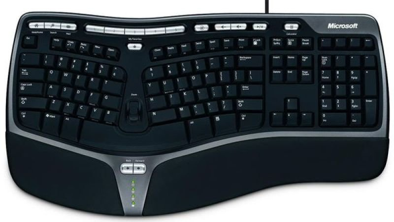 Microsoft Natural Ergonomic Keyboard 4000 - USB