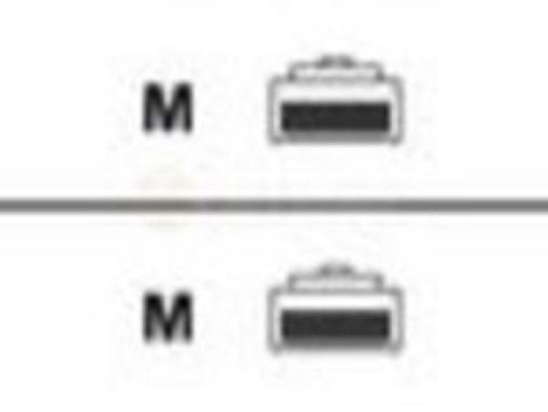 Belkin - Crossover cable - RJ-45 (M) - RJ-45 (M) - 1 m - UTP - ( CAT 5e ) - molded - yellow