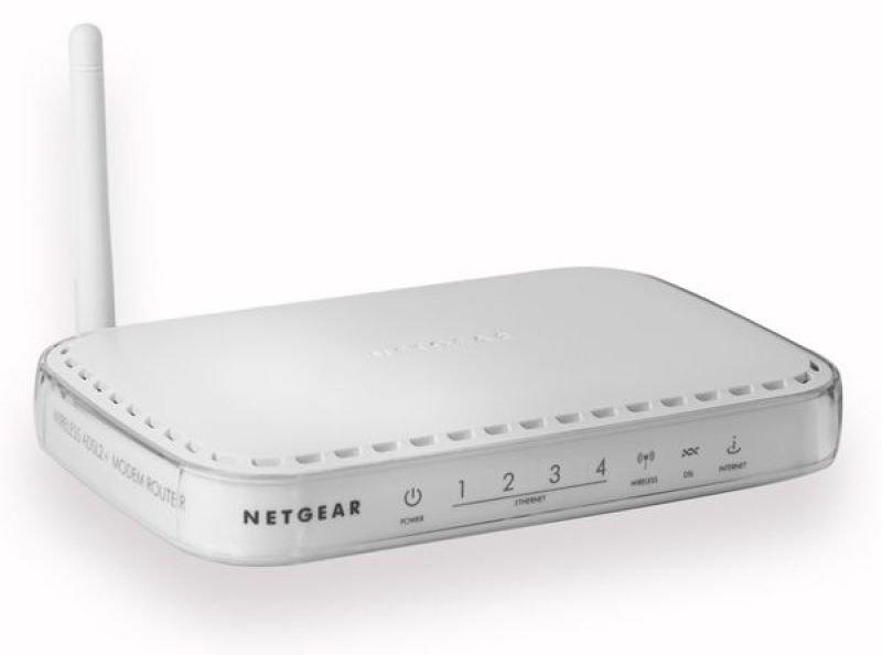 Netgear DG834G v5 Wireless-G ADSL Modem Router