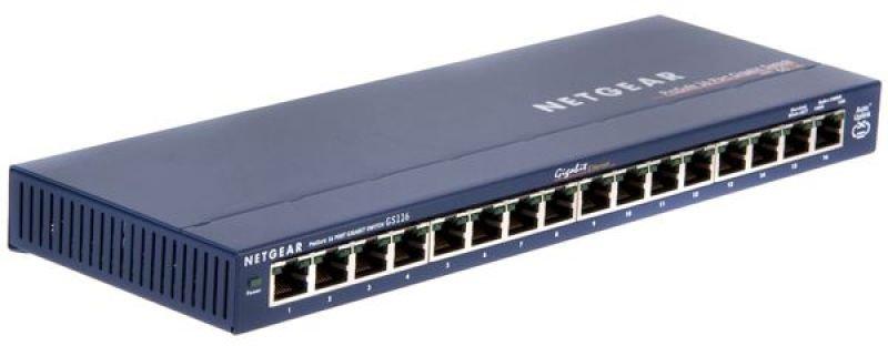 Netgear ProSafe GS116 16-port Gigabit Switch