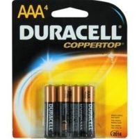 Duracell Basic AAA Batteries 4 Pack