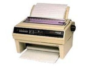 OKI Microline 395B 24 pin Dot Matrix Printer