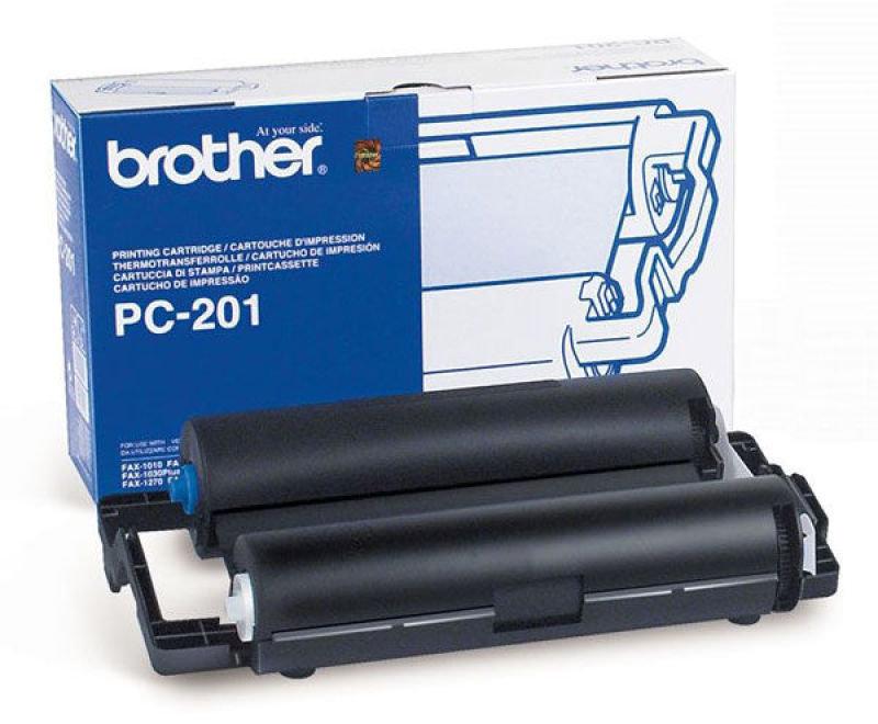 Brother PC 201 Black Print ribbon