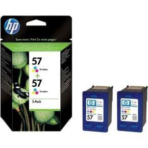 HP 57 Colour Twin Ink Cartridge - C9503AE