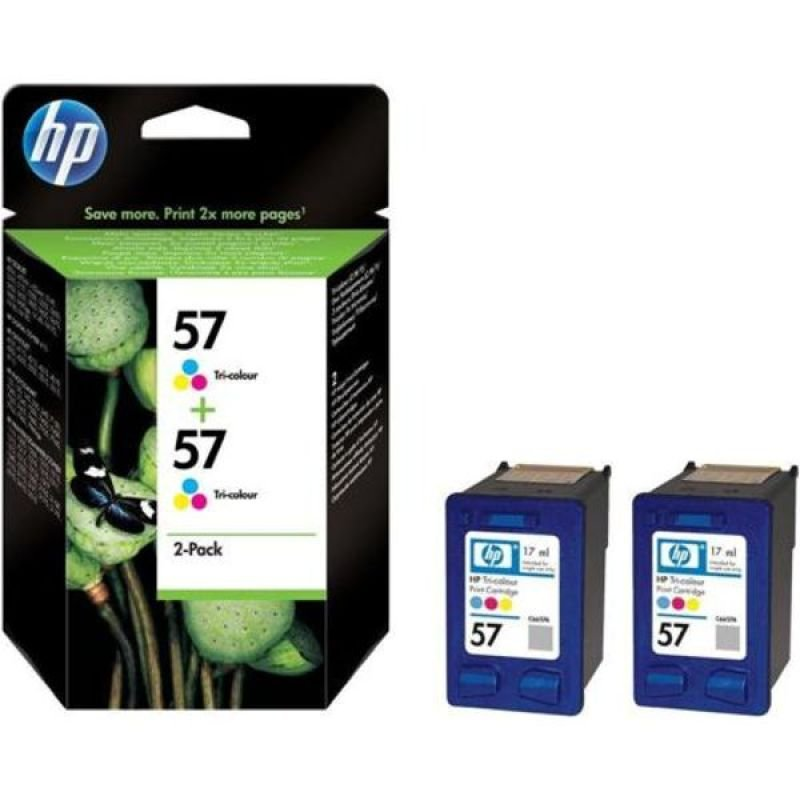 HP 57 Colour Twin Ink Cartridge  C9503AE