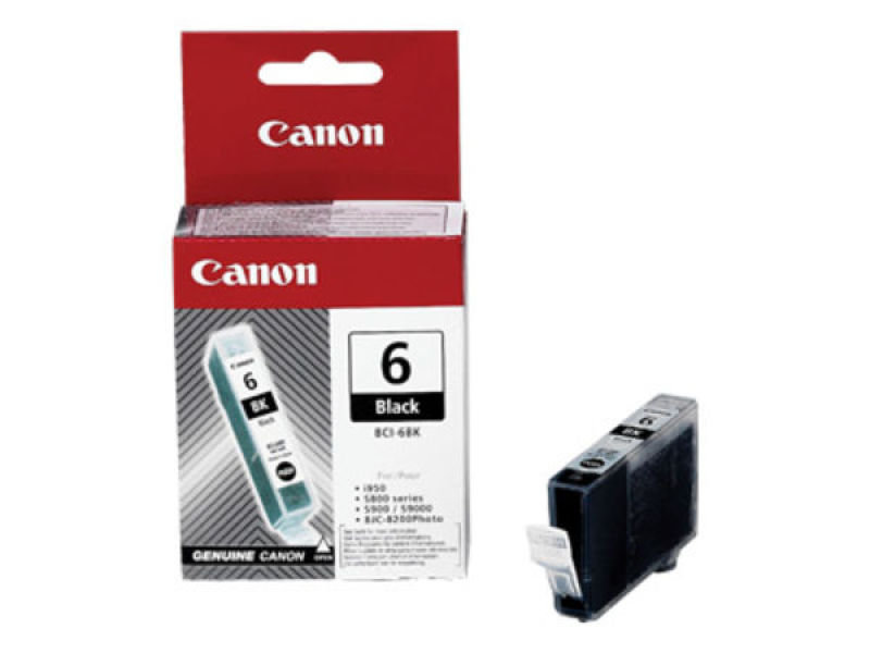 Canon BCI 6BK Black Ink Cartridge
