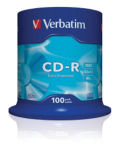 Verbatim 52x CD-R Discs - 100 Pack Spindle