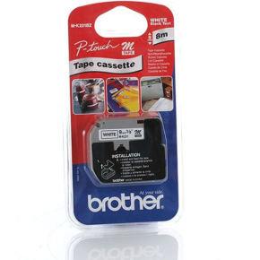 Brother MK221BZ Laminated Tape Black on White