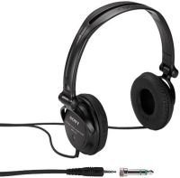 Sony MDR-V150 Black Headphones with Reversible Housing and 30mm Drive Unit