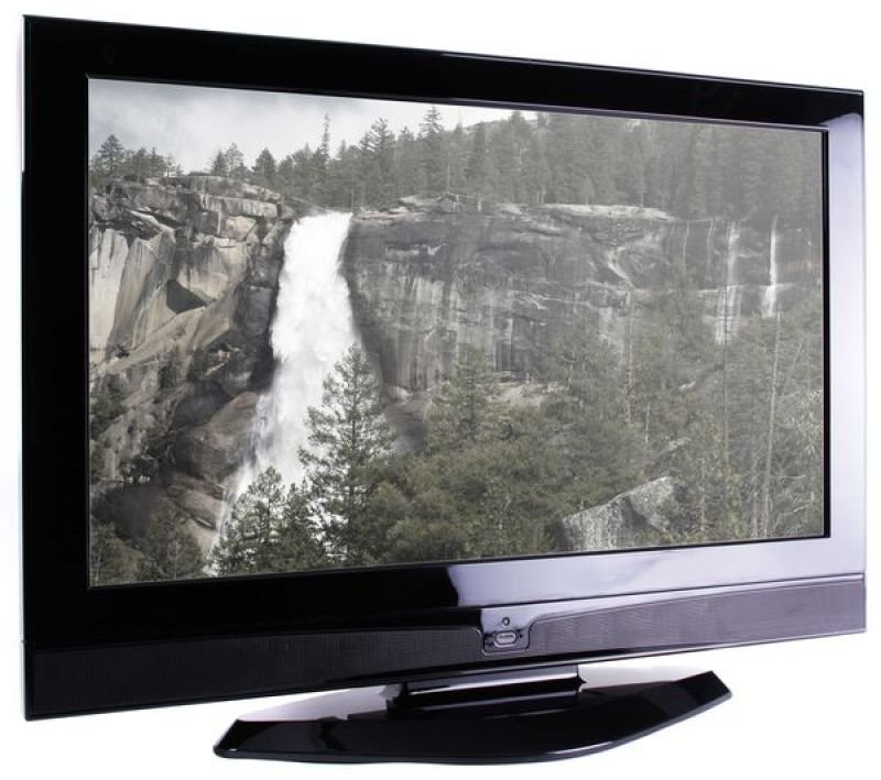 "Vistron 32"" HD Ready TV (Samsung Panel) Digital Freeview 1366x768 1500:1 500cd/m2 10ms 16:9 2 x HDMI/VGA Gloss Black"