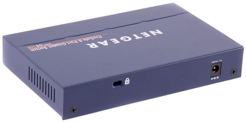 Netgear ProSafe GS108 8-port Gigabit Metal Desktop Switch