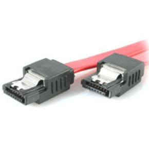 StarTech.com Latching SATA Cable 0.2m Red