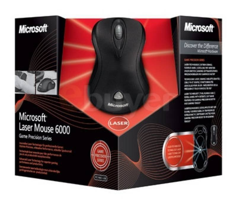 Microsoft Wired Laser Mouse 6000