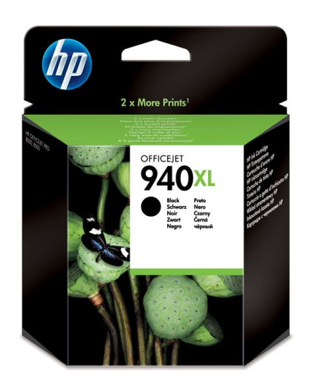 HP 940XL Black Ink Cartridge  C4906AE