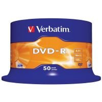 Verbatim 16x DVD-R Discs- 50 Pack Spindle
