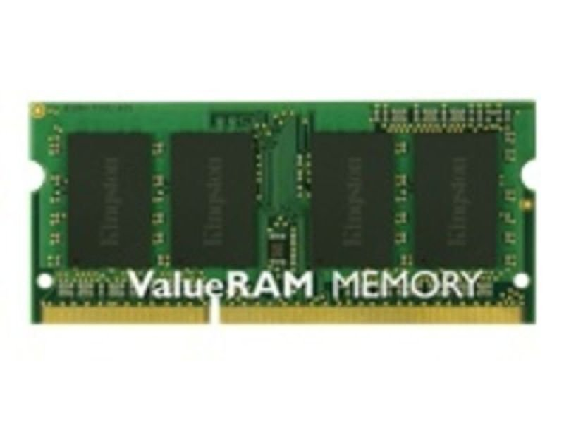 Kingston 4GB 1600MHz DDR3 Non-ECC CL11 SODIMM SR X8 Laptop Memory