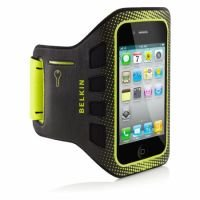 Belkin iPhone 4S Neoprene Armband Black