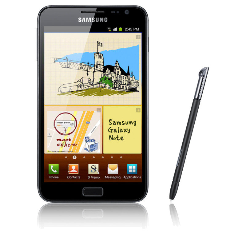 Samsung Galaxy Note N7000 Sim Free Smartphone - Black