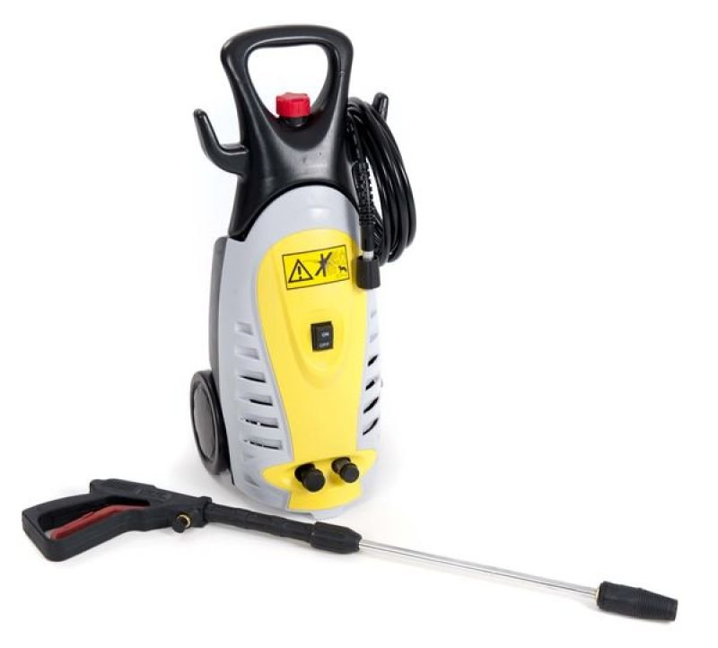 Image of Dirtblaster High Pressure Washer 1800W 110 bar Auto Stop System 5m Hose Brush Flow 5.5L per Minute