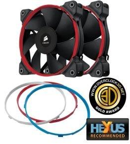 Corsair SP120, 120mm High Pressure Fan for Radiators & Heatsinks, 3 pin, Dual Pack