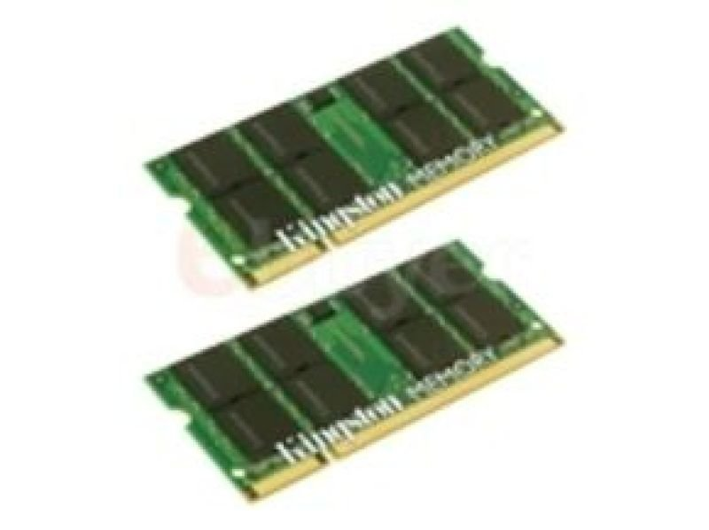 Image of Kingston 2GB (2x1GB) DDR2 667MHz Memory For Apple iMac & MacBook - Apple Ref = MA369G/A or MA751G/A