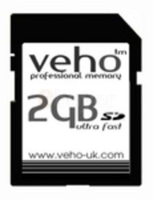 Veho 2GB Ultra Fast 133x Secure Digital Card