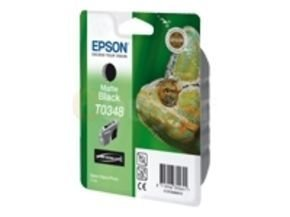 Epson T0348 - Print cartridge - 1 x pigmented matte black - 440 pages