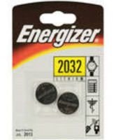 Energizer 635803 CR2032 Lithium Button Cell Batteries Pack 2