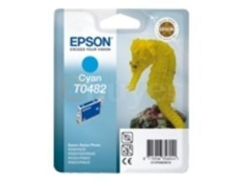 Epson T0482 13ml Cyan Ink Cartridge 430 Pages