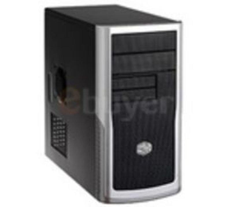 Coolermaster Elite 340 Black Micro ATX Tower Case - No PSU