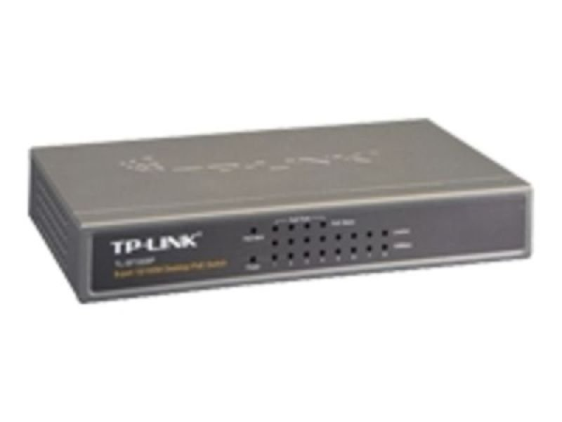 TP-Link TL-SF1008P 8-port 10/100 PoE Switch