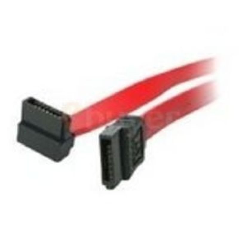 Startech Right Angle Serial ATA Cable (1 end) 24 Inch