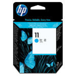 HP 11 Cyan OriginalDesignJet Printhead - Standard Yield 4 pl Ink Drop - C4811A