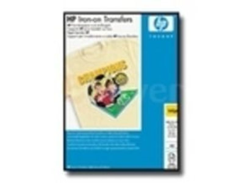 HP Iron-On Transfers A4 12 Sheets