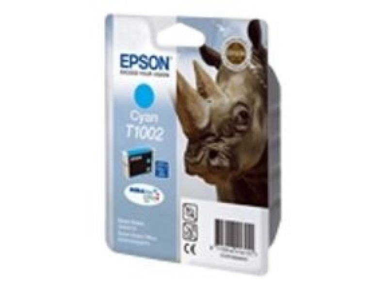 Epson T1002 11.1ml Cyan Ink Cartridge 815 Pages