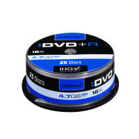 Intenso 16x DVD+R 4.7GB 25 Pack Spindle