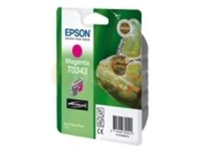 Epson T0343 17ml Pigmented Magenta Ink Cartridge 440 Pages