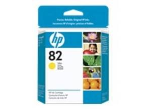 HP 82 28ml Yellow Ink Cartridge - CH568A