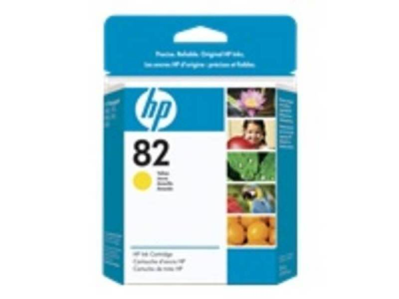 HP 82 28ml Yellow Ink Cartridge  CH568A
