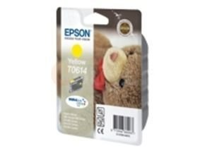 Epson T061 8ml Pigmented Yellow Ink Cartridge 250 Pages