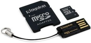 Kingston 32GB MicroSDHC Card - With Adapter