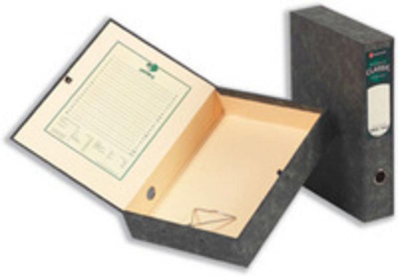 El Classic Boxfile Locksprng Fc Bk 30115 - 5 Pack