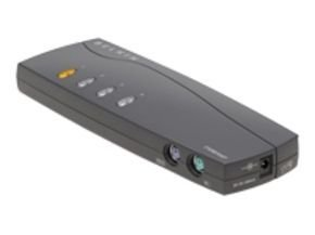 Belkin OmniView E Series 4 Port KVM Switch 1 local user