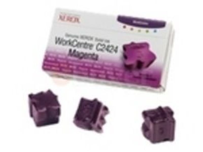 Xerox Genuine Xerox - Solid inks - 3 x magenta - 3400 pages - WorkCentre C2424