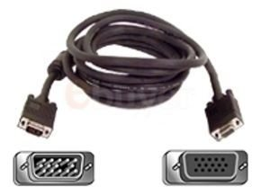 Belkin Pro Series High Integrity VGA/SVGA Monitor Extension Cable 7.5m