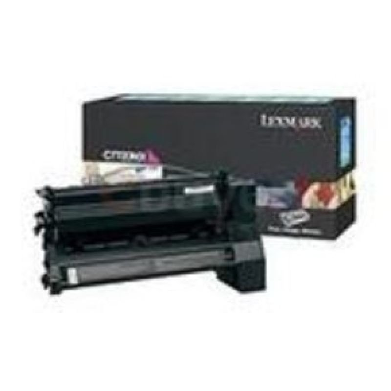 Lexmark Yellow Extra Hi-capacity Laser Cartridge C772