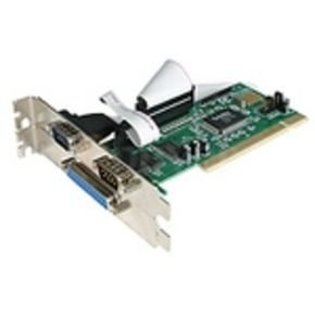 StarTech.com 2S1P PCI Serial Parallel Combo Card with 16550 UART - IEEE 1284 Card - Serial Parallel PCI - PCI Serial Adapter