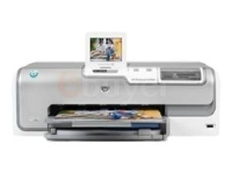 HP PhotoSmart D7460 - Printer - colour - ink-jet - A4 - 1200 dpi x 1200 dpi - up to 34 ppm (mono) / up to 33 ppm (colour) - capacity: 100 sheets - USB, Bluetooth, Ethernet