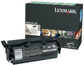 Lexmark 0X651A11E  Black Return Program Ink Cartridge