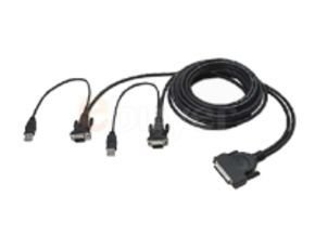 Belkin OmniView Dual-Port USB KVM Cable 3.6m